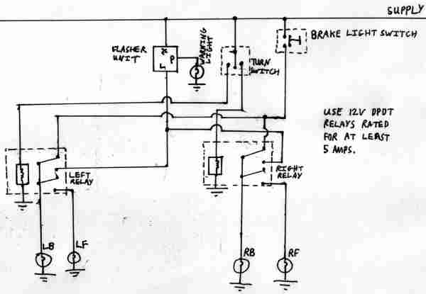 morris minor indicator wiring diagram