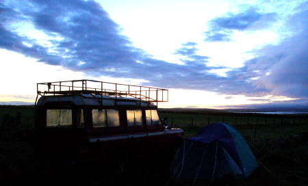 Sunset on Orkney